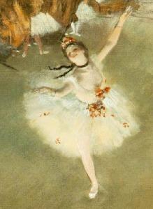 La Estrella, 1876-1877. Edgar Degas. Pastel sobre papel.
