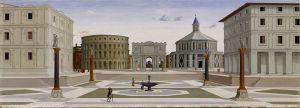 La Ciudad Ideal, Fra Carnevale, entre 1480 y 1484.
