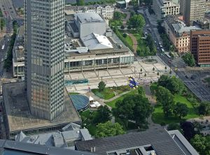 Plaza Willy Brandtz, Frankfurt.
