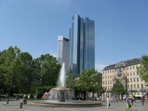 Opernplatz, Frankfurt.