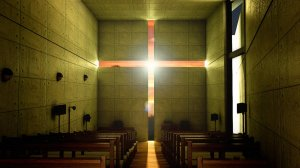 Iglesia de la Luz en Ibaraki, Japón, de Tadao Andō.