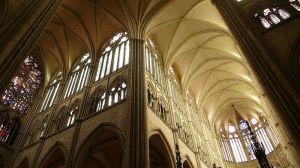 Interior de la Catedral de Amiens.