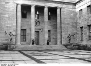 Berlin, Neue Reichskanzlei, Innenhof