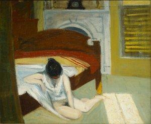 Interior veraniego, 1909. Óleo sobre lienzo, Edward Hopper.