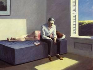 Digresión filosófica, 1959,Edward Hopper.