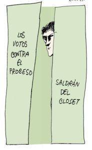 Caricatura de Zapata en El Nacional de hoy.