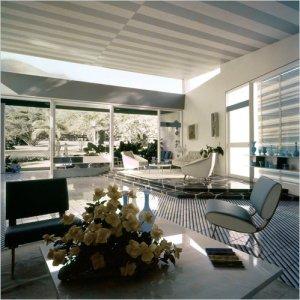 Interior de la Villa Arreaza, Ponti, 1954 - 1958, Caracas.