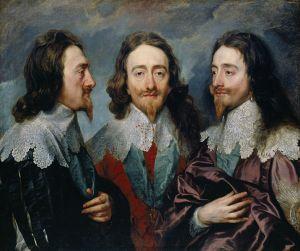 Retrato triple de Carlos I de Inglaterra por Anthony van Dyck (1635).