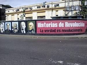 Mural en una calle venezolana.