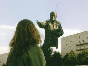 Fotograma de la película Good bye Lenin.
