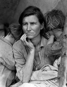 Madre migrante, Dorothea Lange.