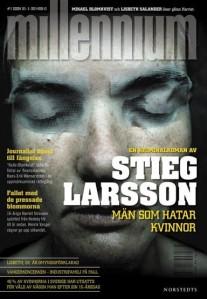 """Portada de la edición sueca de """"Los hombres que no amaban a las mujeres"""". Wikipedia"""