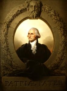 George Washington (Patriæ Pater) de Rembrandt Peale, 1824. Imagen: http://www.senate.gov/