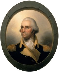 George Washington de Peale, c. 1850. Imagen: http://commons.wikimedia.org/