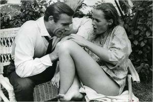 Ursula Andress y Sean Connery. Imagen: http://www.sensacine.com/