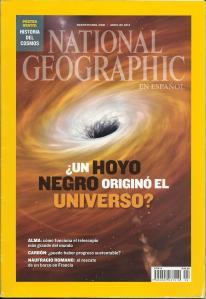Portada de National Geographic en español de abril de 2014