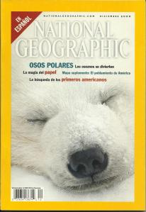 Portada de National Geographic en español de diciembre de 2000